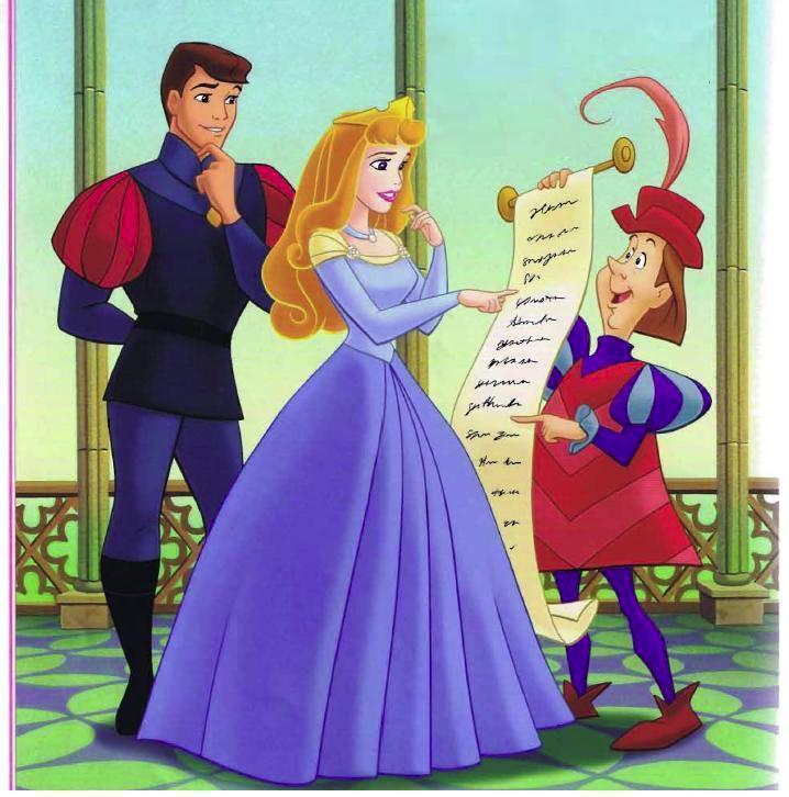 princess aurora and prince philip disney princess photo
