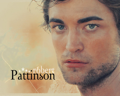Twilight Series wallpaper containing a portrait entitled Rob/Edward <3