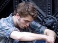 Rob shooting Remember me / New York City - twilight-series photo