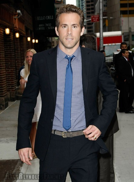 Ryan on Late Show With David Letterman