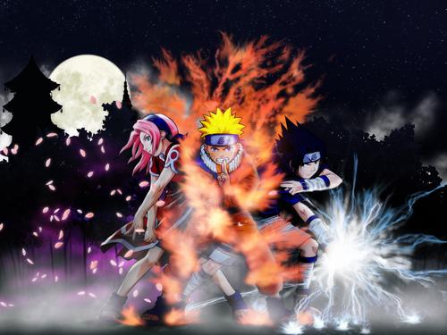 Sakura নারুত Sasuke