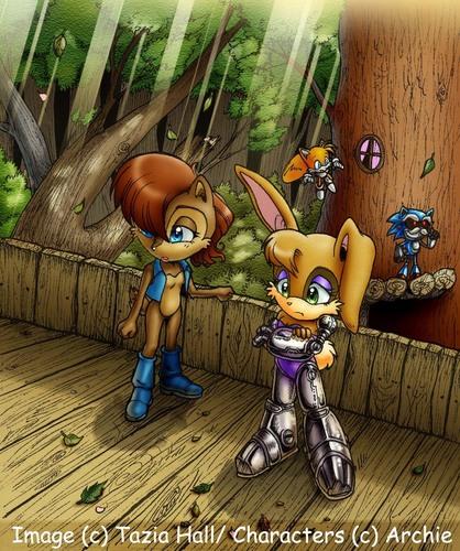 Sally and Bunny