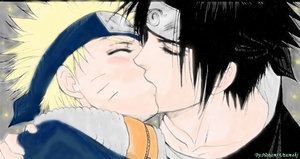 SasuNaru-the Kiss