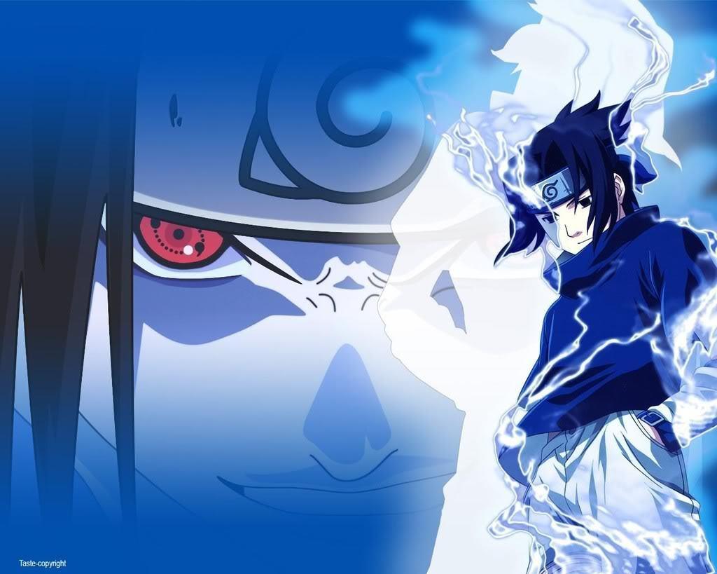 Naruto: Sasuke - Wallpaper