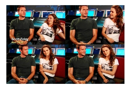 Scott Foley and Keri Russell <333