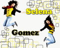 Selena Gomaz karatasi la kupamba ukuta