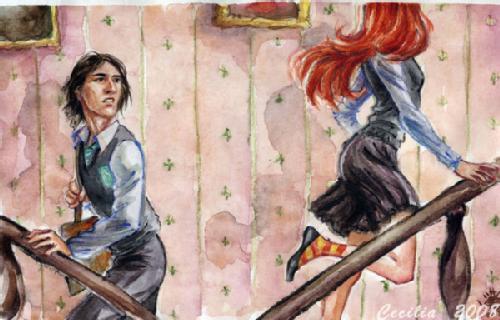 Severus & Lily - Severus Snape & Lily Evans 500x320