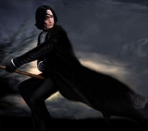 Severus Snape achtergrond possibly containing a hip boot, a well dressed person, and an outerwear titled Severus Snape