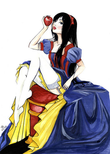 Snow White wallpaper called Sexy Snow White