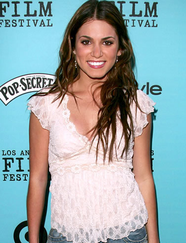 Nikki Reed wallpaper possibly containing a cocktail dress and a portrait called She's Hot
