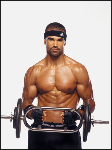 Criminal Minds wallpaper containing a hunk titled Shemar Moore