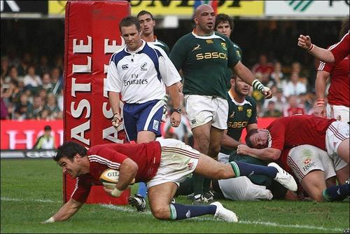 South Africa vs Lions 1st Test