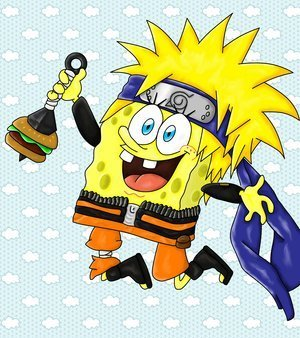 Spongebob Squarepants wallpaper containing anime titled Spongebob Shippuden