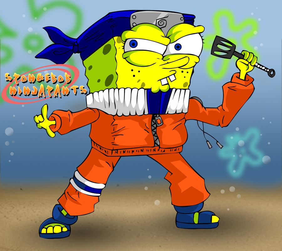 MemBers oF Esfrens [MOE] - Page 5 Spongebob-ninjapants-spongebob-squarepants-6745099-900-800