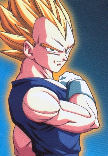 Super Sayin vegeta