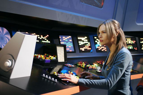 ngôi sao Trek - Enterprise hình nền titled T'Pol - In a Mirror
