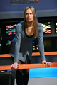 T'Pol - In a Mirror - star-trek-enterprise photo