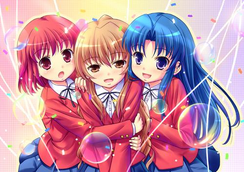 Taiga, Minori and Ami