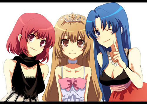 toradora  images taiga  minori and ami hd wallpaper and