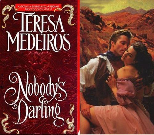 Historical Romance wallpaper with a sign titled Teresa Medeiros