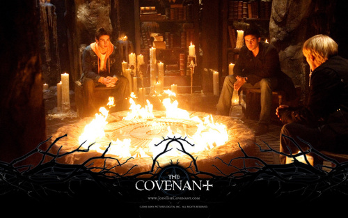 Toby Hemingway wallpaper containing a fire titled The Covenant