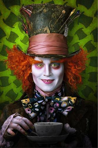 The Mad Hatter, Played by Johnny Depp (OFFICIAL)