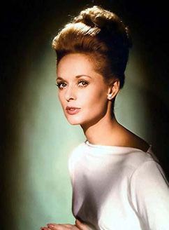 Classic فلمیں پیپر وال containing a portrait called Tippi Hedren