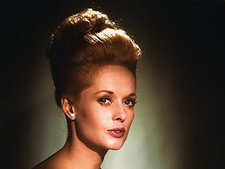 Filem Klasik kertas dinding containing a portrait called Tippi Hedren
