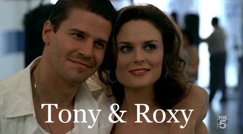 Booth and Bones wallpaper with a portrait called Tony & Roxy