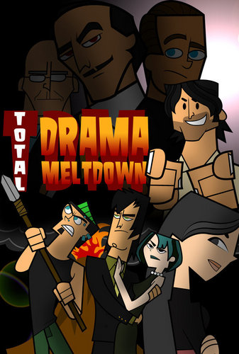 Total Drama Island hình nền containing anime called Total Drama Meltdown