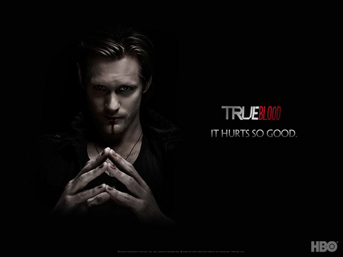 sangre verdadera fondo de pantalla possibly with a portrait entitled True Blood