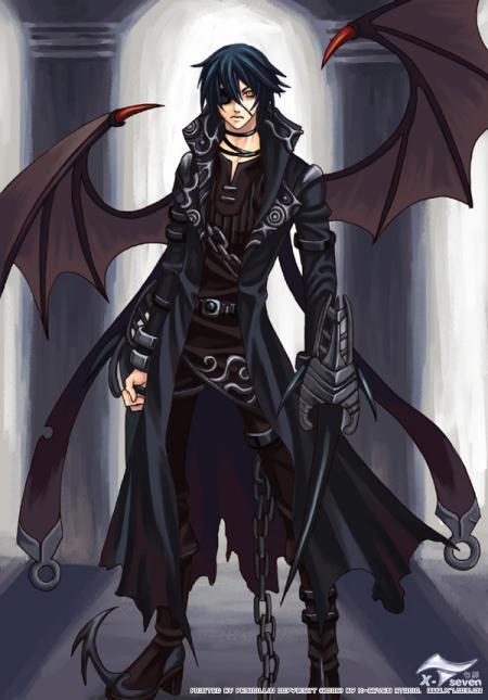 Anime Demon Boy