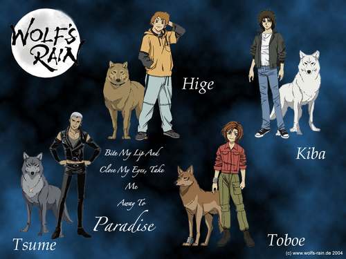 Wolf's Rain wallpaper with anime called Wolf's rain