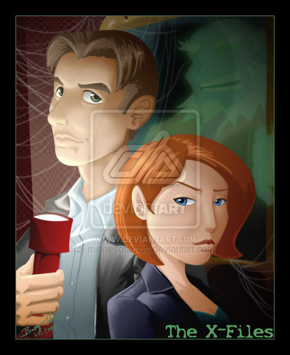 X-files fanart