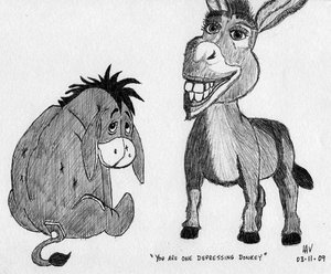 You're One Depressed Donkey
