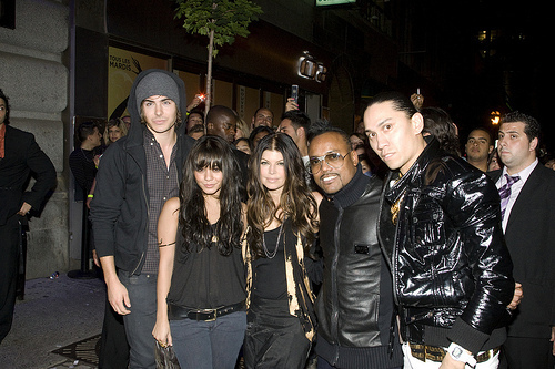 Zac Efron and Vanessa Hudgens with BEP in Montreal