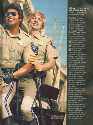 Zach and Donald Magazine Scan