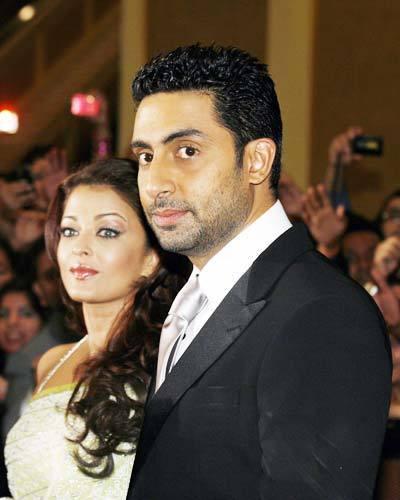 aishwarya & abhishek -2009