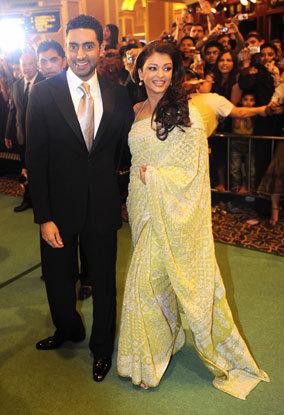 aishwarya &abhishek -iifa 2009