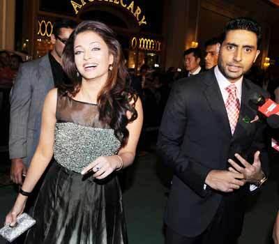 aishwarya & abhishek -iifa 2009