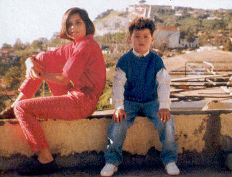 c.ronaldo with his family