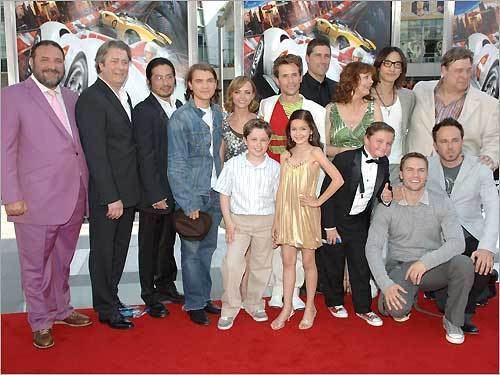 cast of speed racer 2