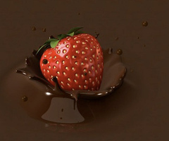 chocolate سٹرابیری, اسٹرابیری