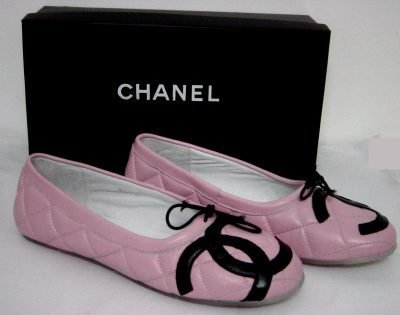 s shoes images chanel pink ballet flats