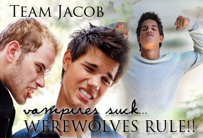 Twilight Series wallpaper with a portrait entitled jake_rules
