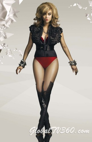 tyra banks wallpaper possibly containing a leotard, tights, and a bustier, bustiê entitled new