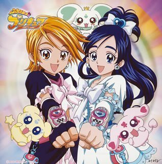 pretty cure 壁紙 containing アニメ titled pretty cure