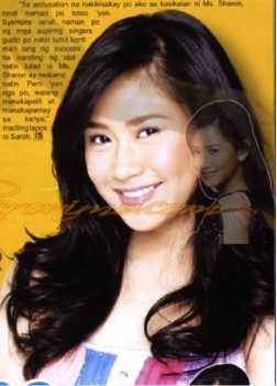sarah geronimo wallpaper with a portrait and attractiveness called sarah