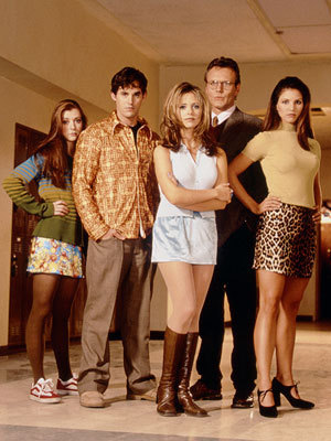 Buffy the Vampire Slayer wallpaper possibly with bare legs, hosiery, and hot pants called season 1