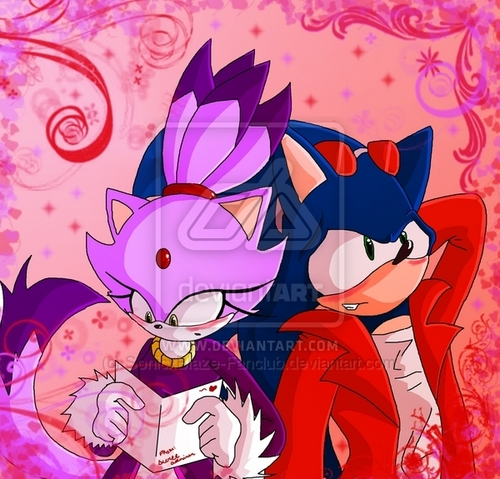 SONIC COUPLES achtergrond possibly containing anime entitled sonaze forever!